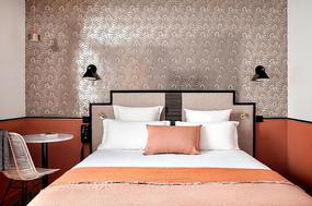 巴黎风家居卧室意向