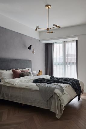 混搭风住宅卧室意向