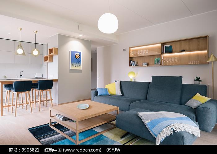 简约卡通空间设计客厅意向图片