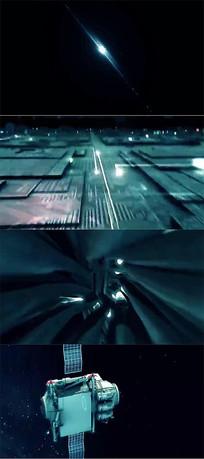 炫酷光效冲击感科技视频