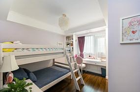 美式轻奢住宅儿童房意向