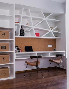 现代风格住宅书房意向