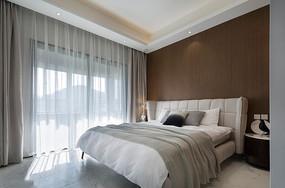 现代简约风格住宅卧室意向