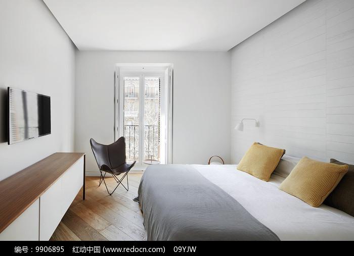 西班牙元素家居卧室意向图片