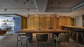形色住宅空间设计餐厅意向