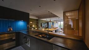 形色住宅空间设计厨房意向