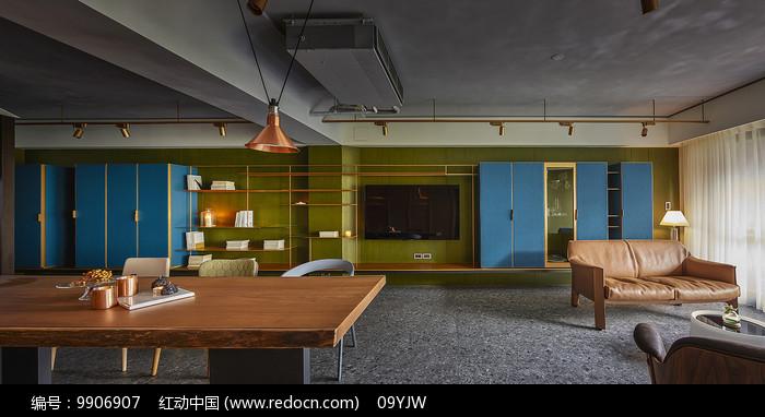 形色住宅空间设计客厅意向图片