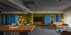 形色住宅空间设计客厅意向