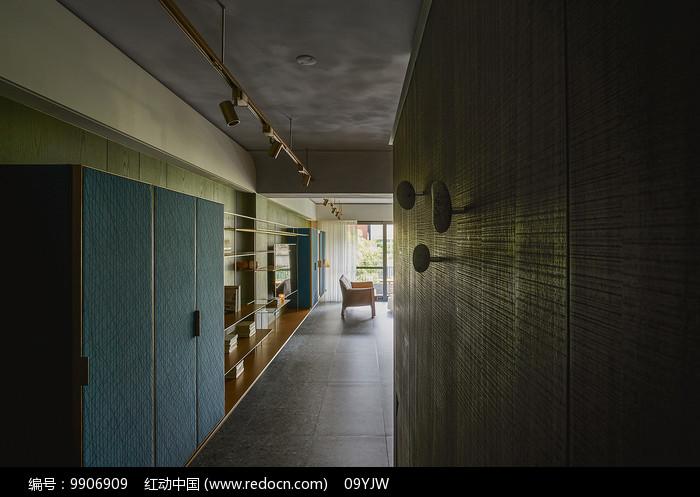 形色住宅空间设计入口意向图片