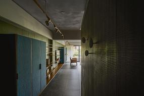 形色住宅空间设计入口意向