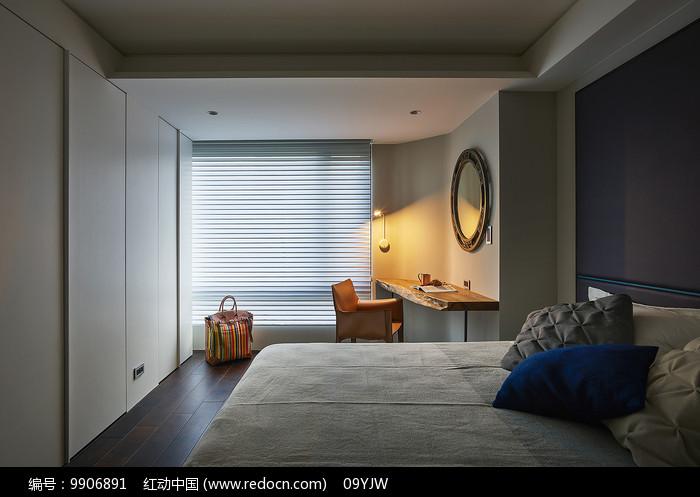 形色住宅空间设计卧室意向图片