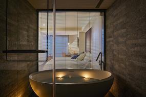 形色住宅空间设计浴室意向