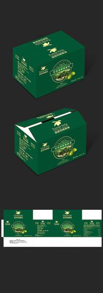 福恩得橄榄油包装箱设计 CDR