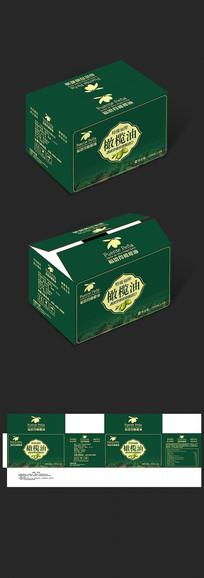 福恩得橄榄油外箱纸箱包装 cdr