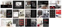 黑色风格企业宣传画册