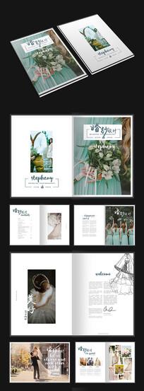 梦幻婚纱画册设计
