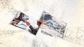 AE简洁商务企业宣传模板