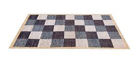 北欧风格子地毯SU