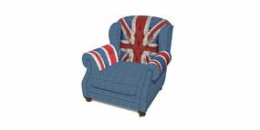 工业风英国国旗标志SU