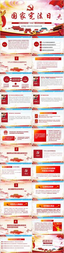 国家宪法日宣传PPT模板