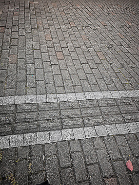 盲道地面铺装