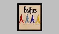 披头士乐队壁画SU
