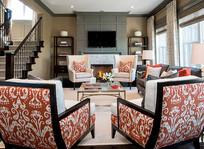 现代北欧风格的客厅