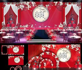 新中式婚礼效果图设计