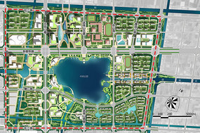 城市景观彩平设计 JPG