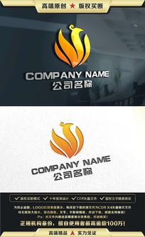 凤凰标志凤凰LOGO设计 CDR