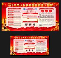 中华人民共和国监察法宣传栏