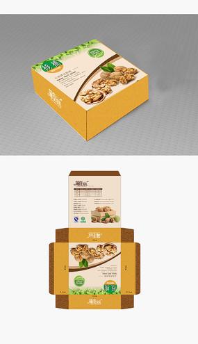 干果食品礼盒包装设计