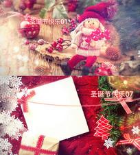 圣诞节祝福快乐AE模板