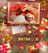 唯美圣诞新年祝福AE模板