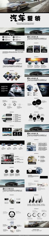 现代汽车营销PPT模板