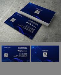 蓝色金融科技名片 PSD