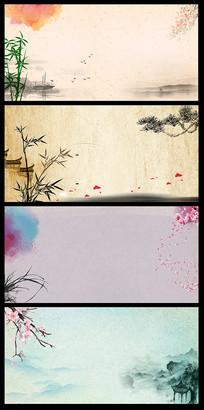 中国风海报BANNER背景
