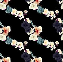 花朵串联素材