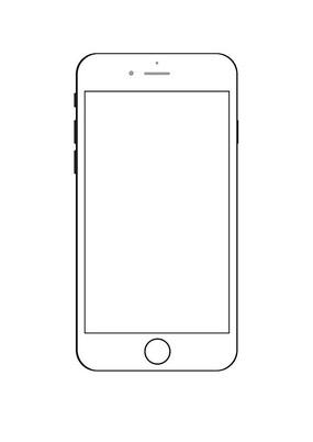 手机矢量图