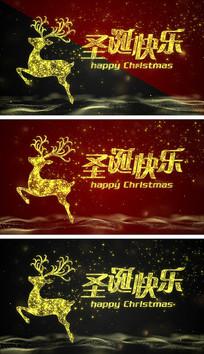 4K圣诞节背景视频