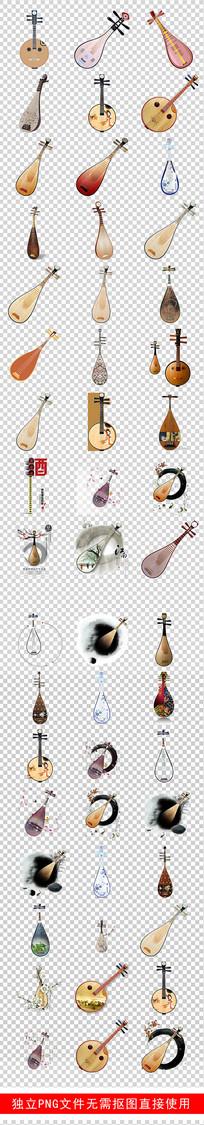 古典琵琶乐器培训琵琶素材