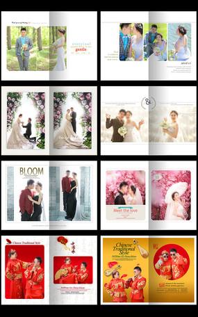 婚纱照相册设计模板
