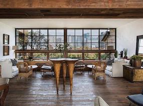 美式原野风咖啡厅设计