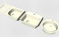 清洗槽模型组合 skp