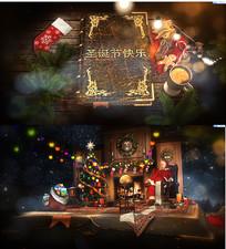 圣诞节快乐魔法AE模板