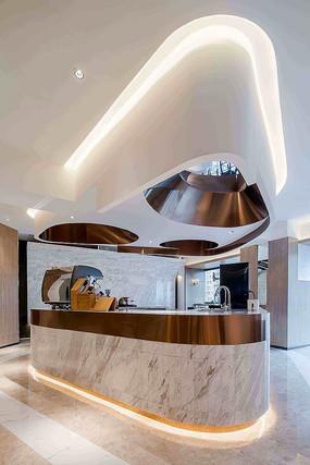 特色咖啡厅吧台设计