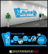 公司企业文化背景墙模板