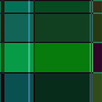 绿色格子拼接布纹印染素材