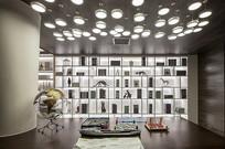 现代特色书房设计 JPG