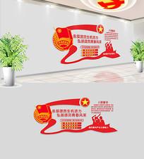 共青团文化墙设计模板
